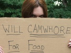 Will Cam-Whore for Food